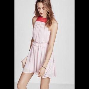Express Color Block Sleeveless Dress XS